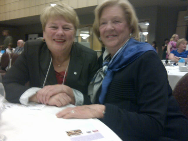 Kathy LeGrow and Margaret McCain
